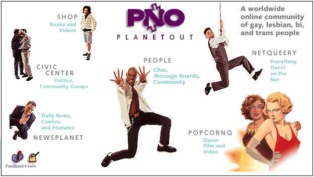 PlanetOut.com in February 1997