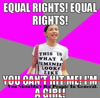 """The Feminist Hypocrite""."