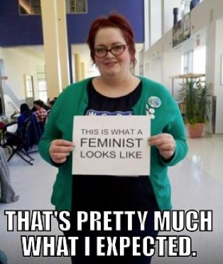 """What a Feminist Looks Like"""