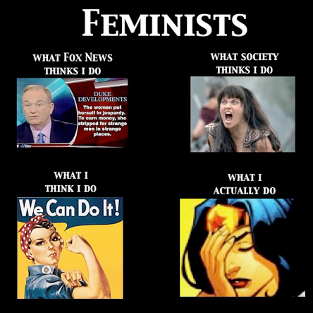 """How Feminists Are Perceived"""