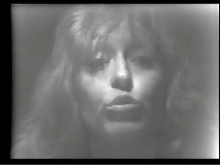 Image : Francine Larivée, Entrevue avec Francine Larivée, 1976. Photo : Rose-Marie Arbour avec l'autorisation de Vidéographe.